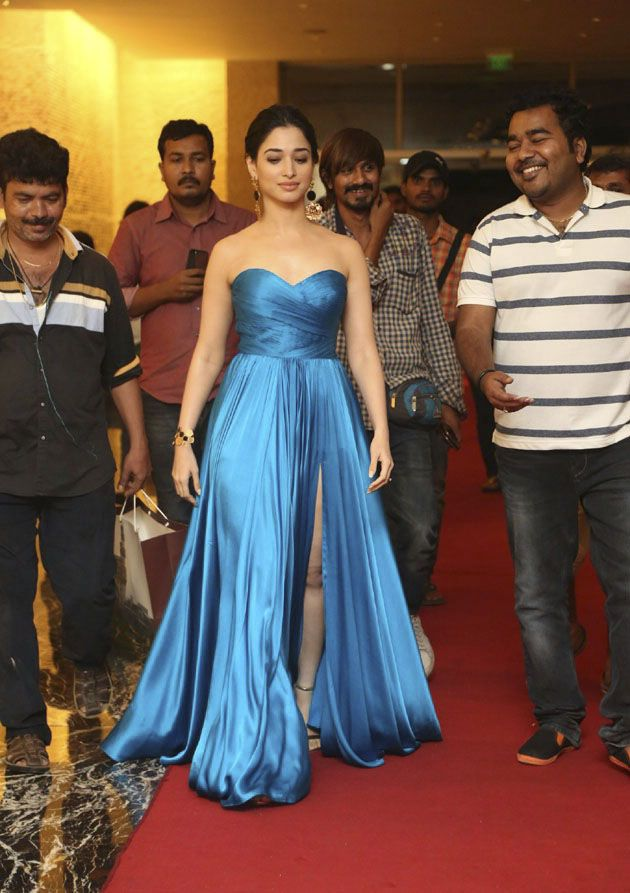 Tamannaah Bhatia looks Fab at Abhinetri Audio Launch