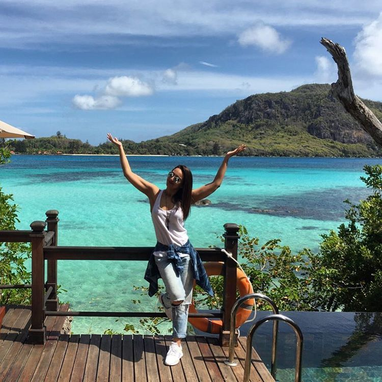 Sonakshi Sinha on beach holiday at Seychelles