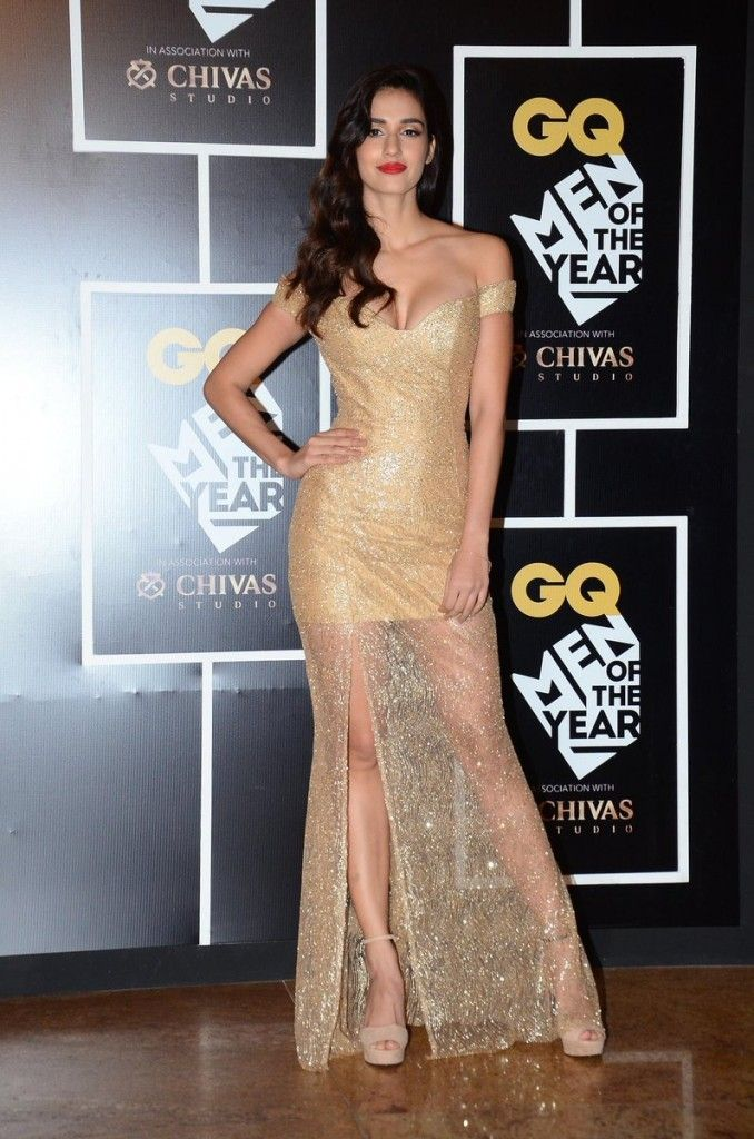 Golden Girl Disha Patani at GQ Awards Party