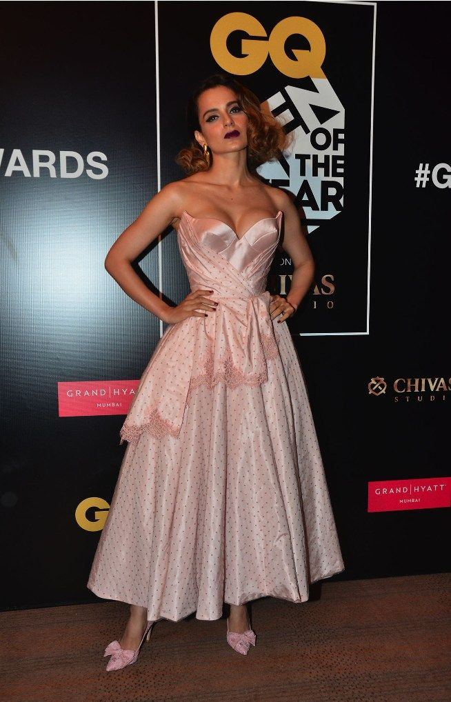 Kangana won the Woman of the Year at GQ Awards