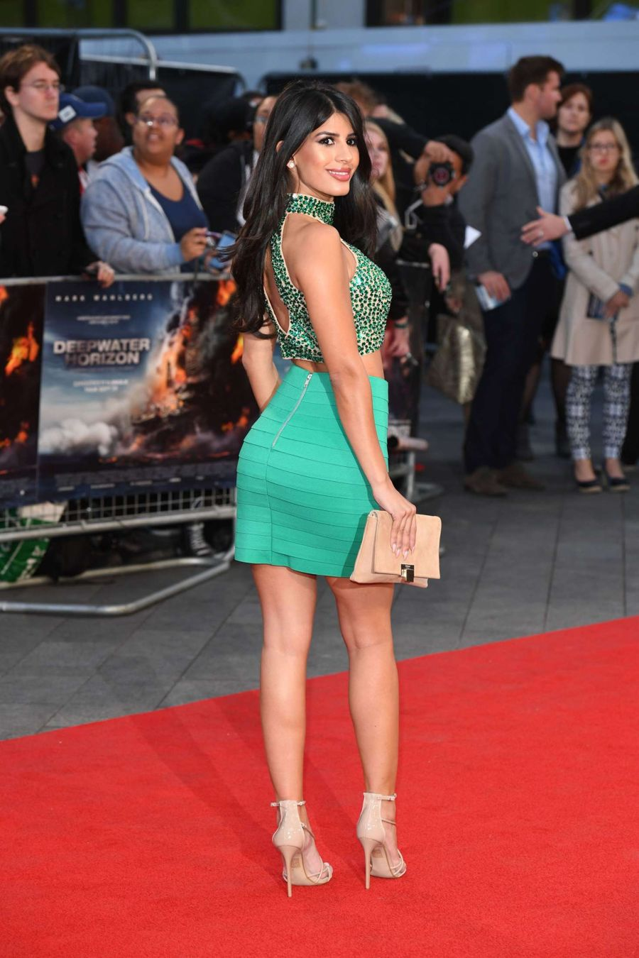 Jasmin Walia Glams Up 'Deepwater Horizon' premiere