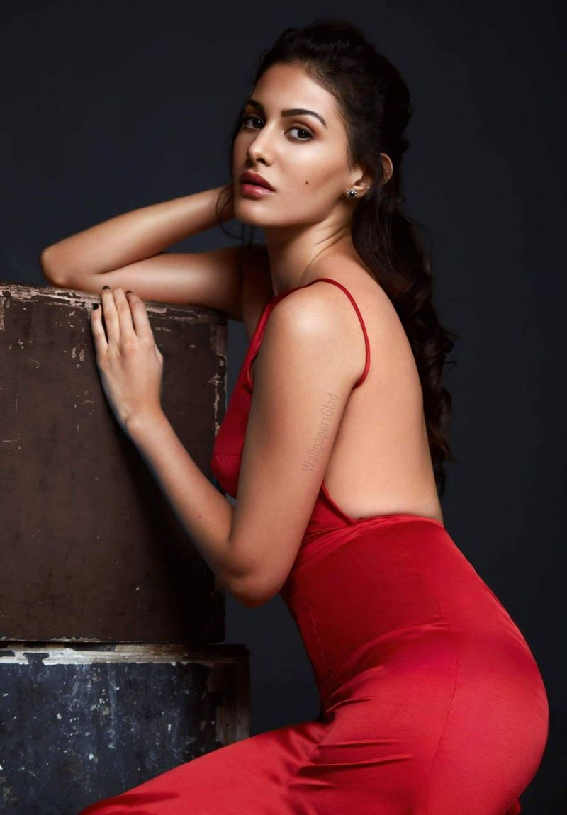 Amyra Dastur Sizzles in Red Dress