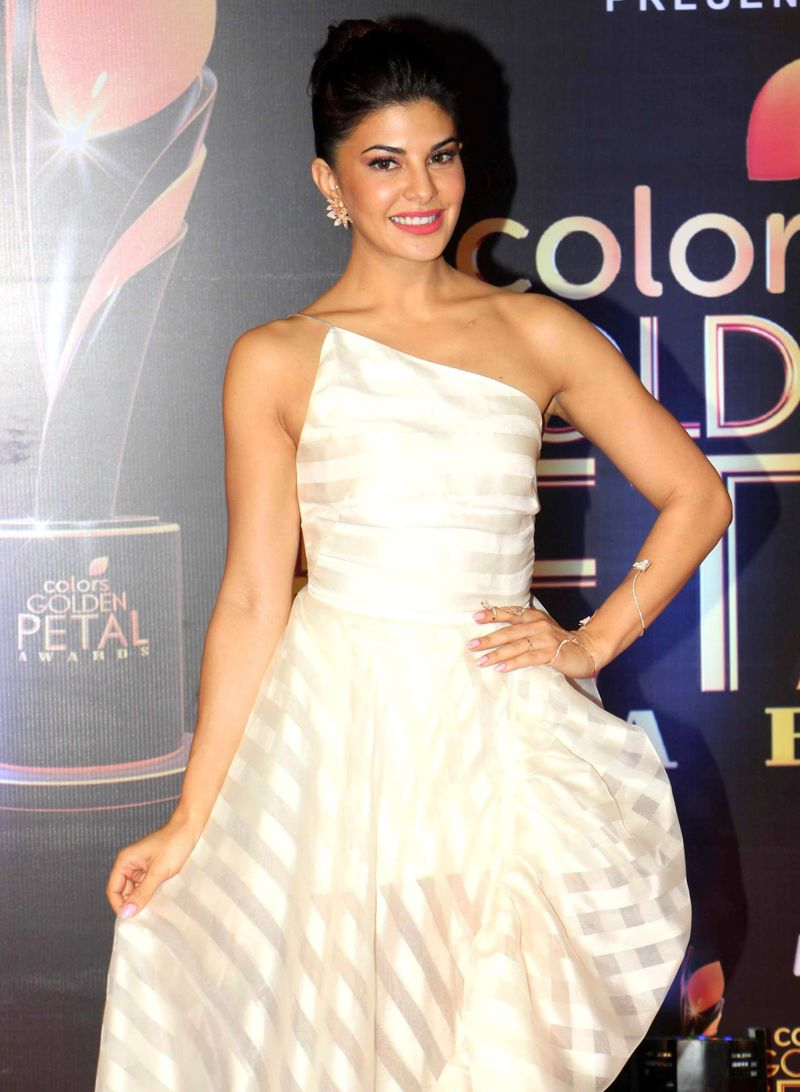 Jacqueline Fernandez at 5th Colors Golden Petal Awards