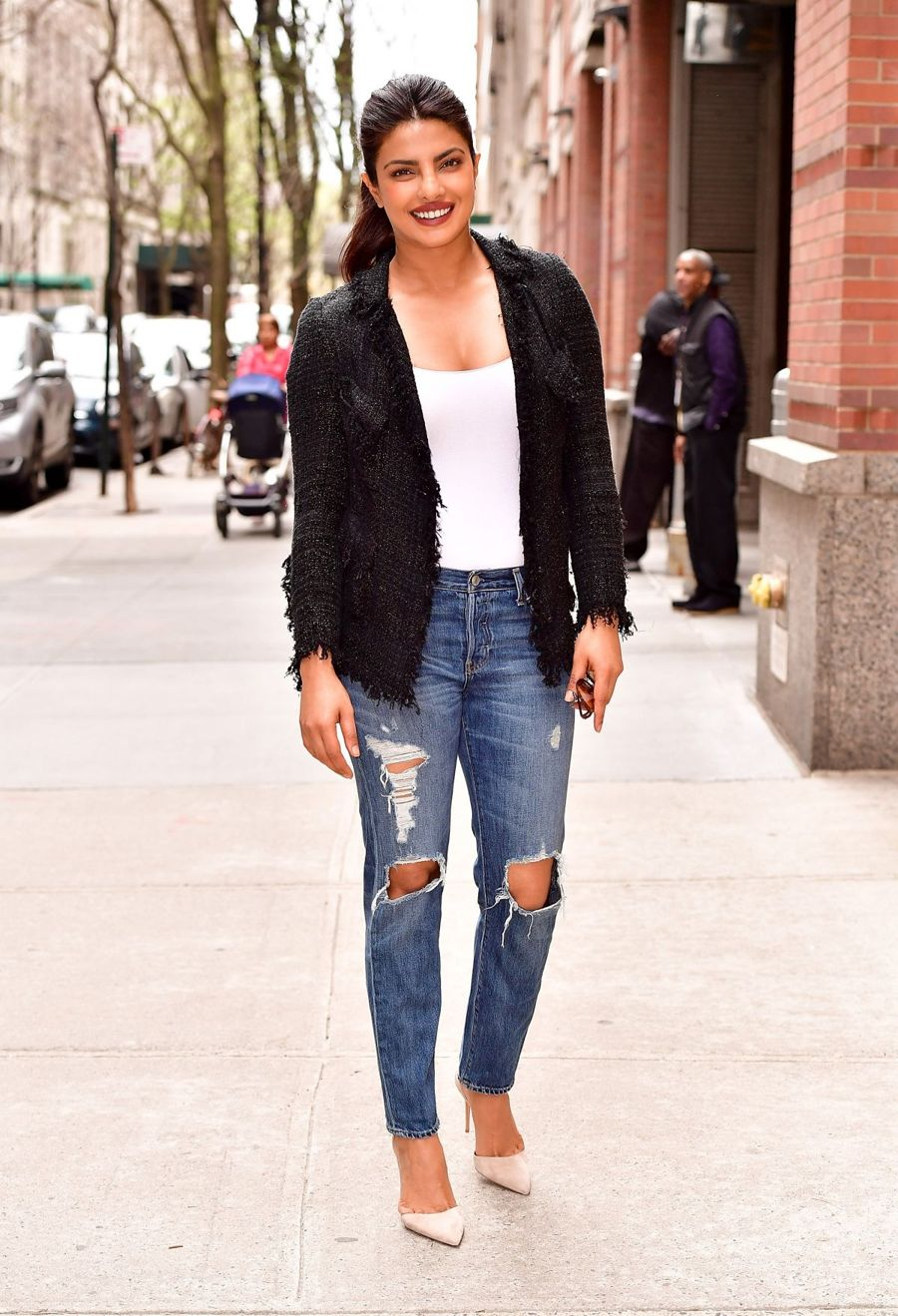 Priyanka Chopra - Leaves Live With Kelly in New York
