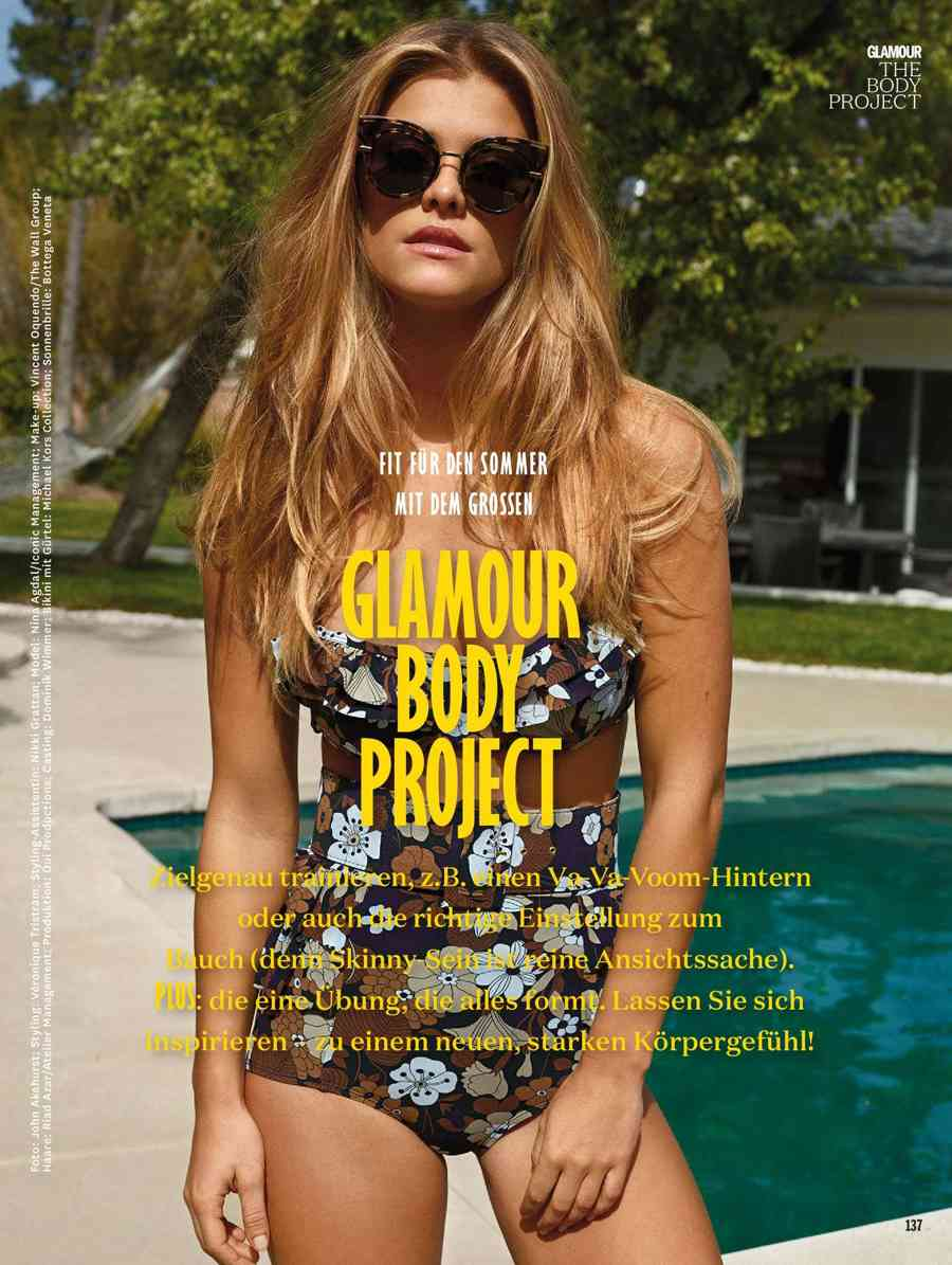 Nina Agdal In Glamour Germany May 2017 Page 12 Hollywood Celebs