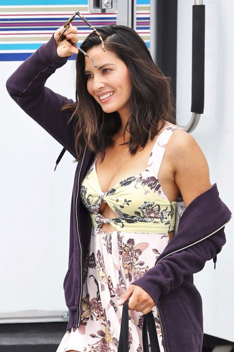 "Olivia Munn at ""The Buddy Games"" Set in Vancouver"