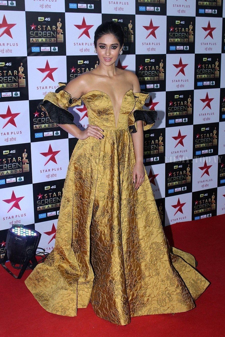 Ileana D'Cruz at Star Screen Awards 2017