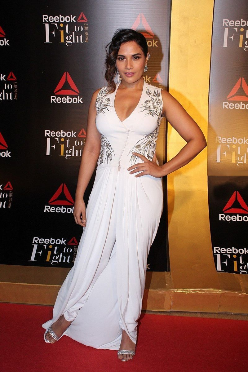 Richa Chadda at Reebok Fit To Fight Awards 2017