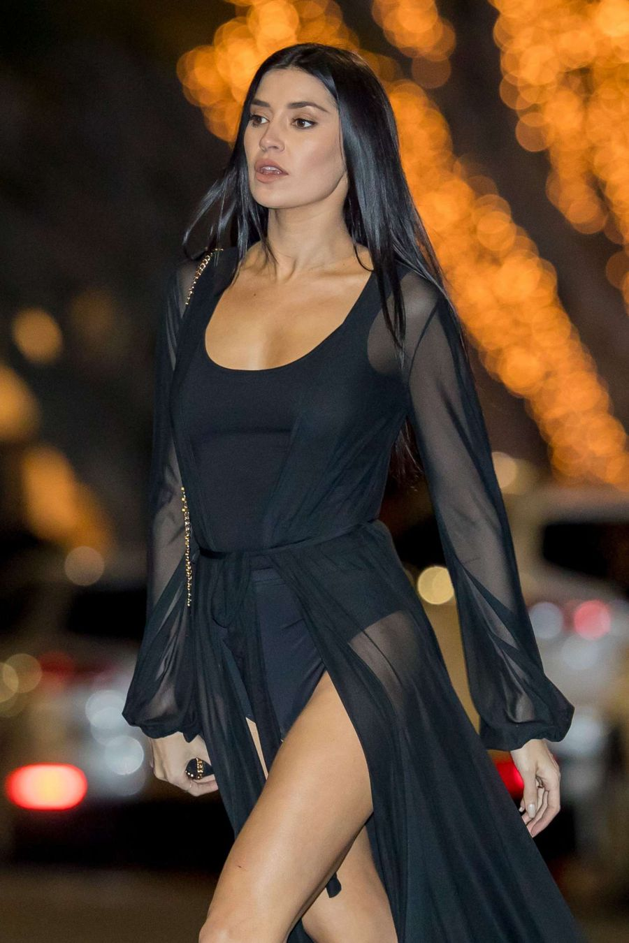 Nicole Williams on a photoshoot in Los Angeles