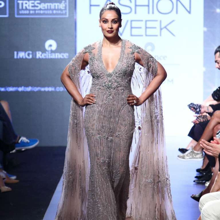 Bipasa Basu at Lakme Fashion Week Summer 2017