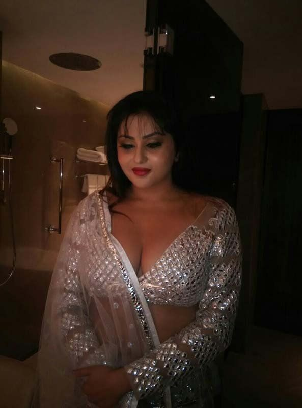 Namitha at Chennai Fashion Week show stills