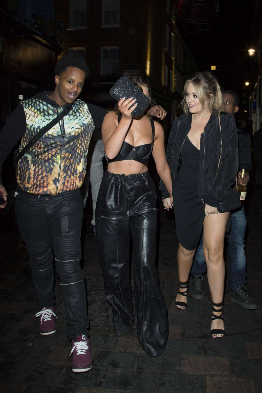 Perrie Edwards at Cirque De Soir in London
