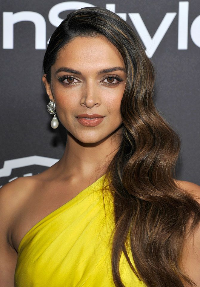 Deepika Padukone at the Golden Globes, post party