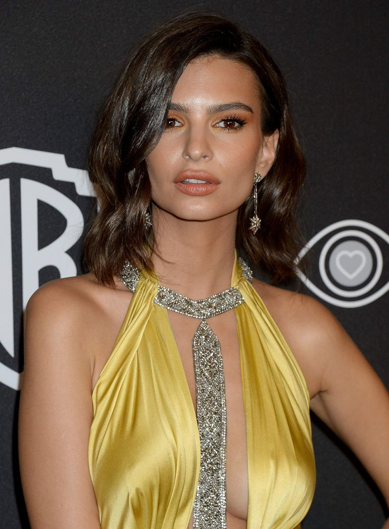 EMILY RATAJKOWSKI at 74th Annual Golden Globe Awards