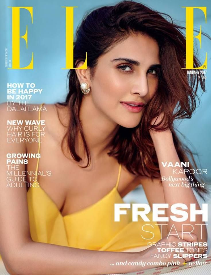 Vaani Kapoor - Elle India Magazine January 2017