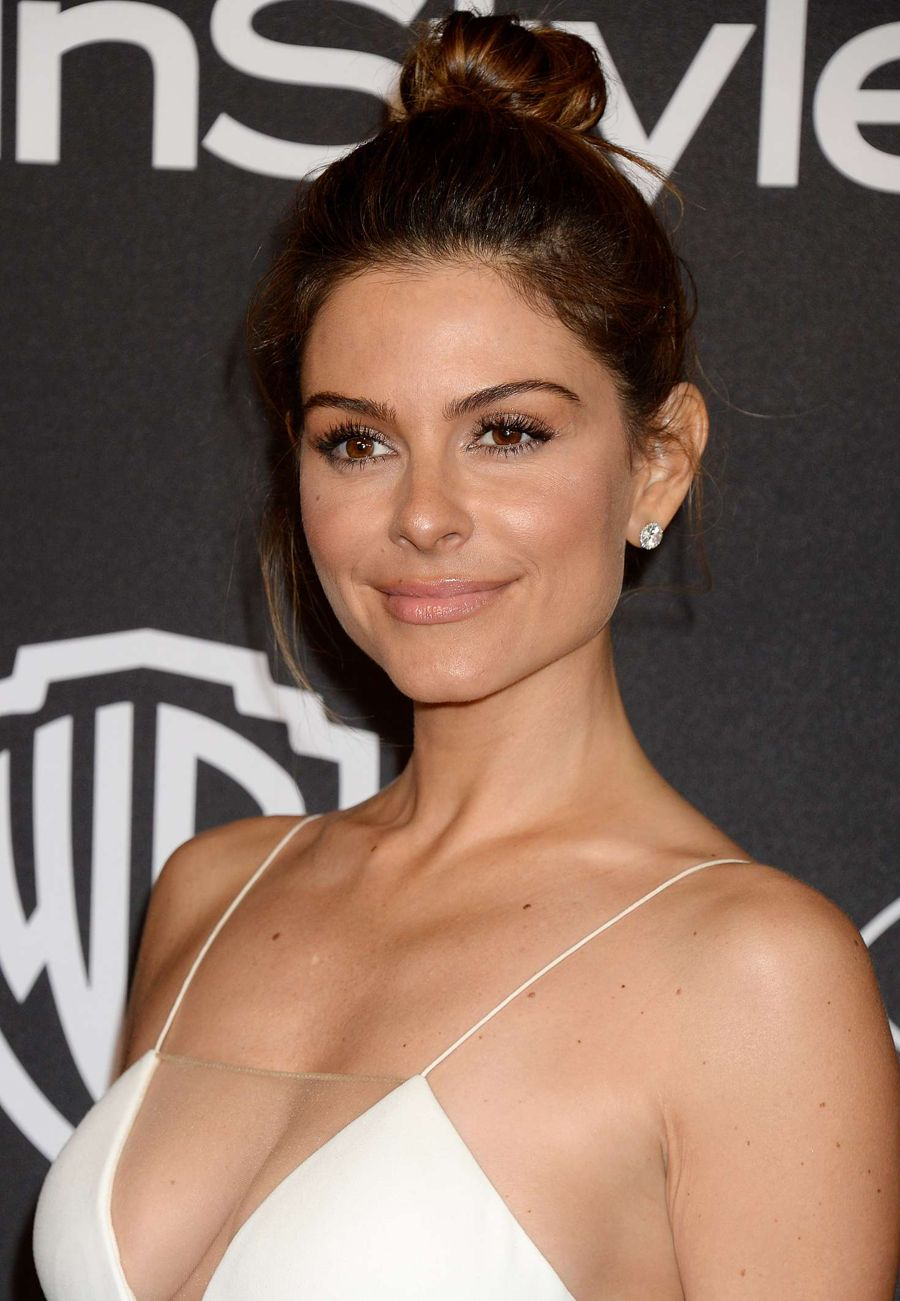 Maria Menounos - 2017 InStyle and Warner Bros Golden Globes ...