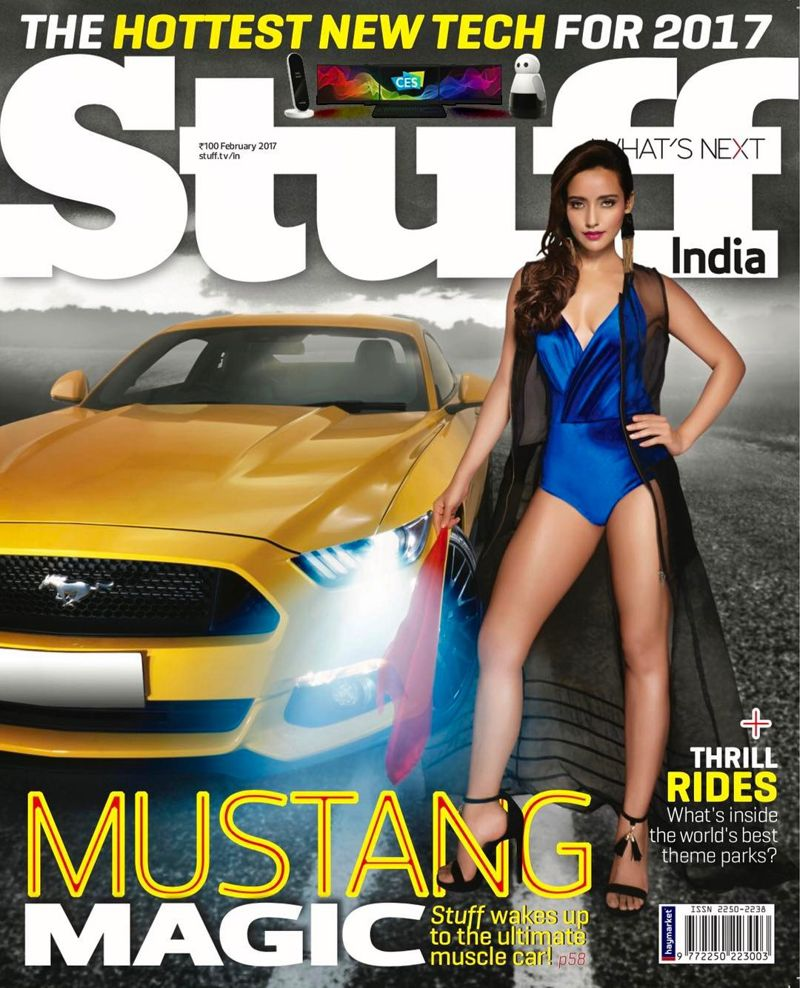 Neha Sharma - Stuff India Magazine February 2017