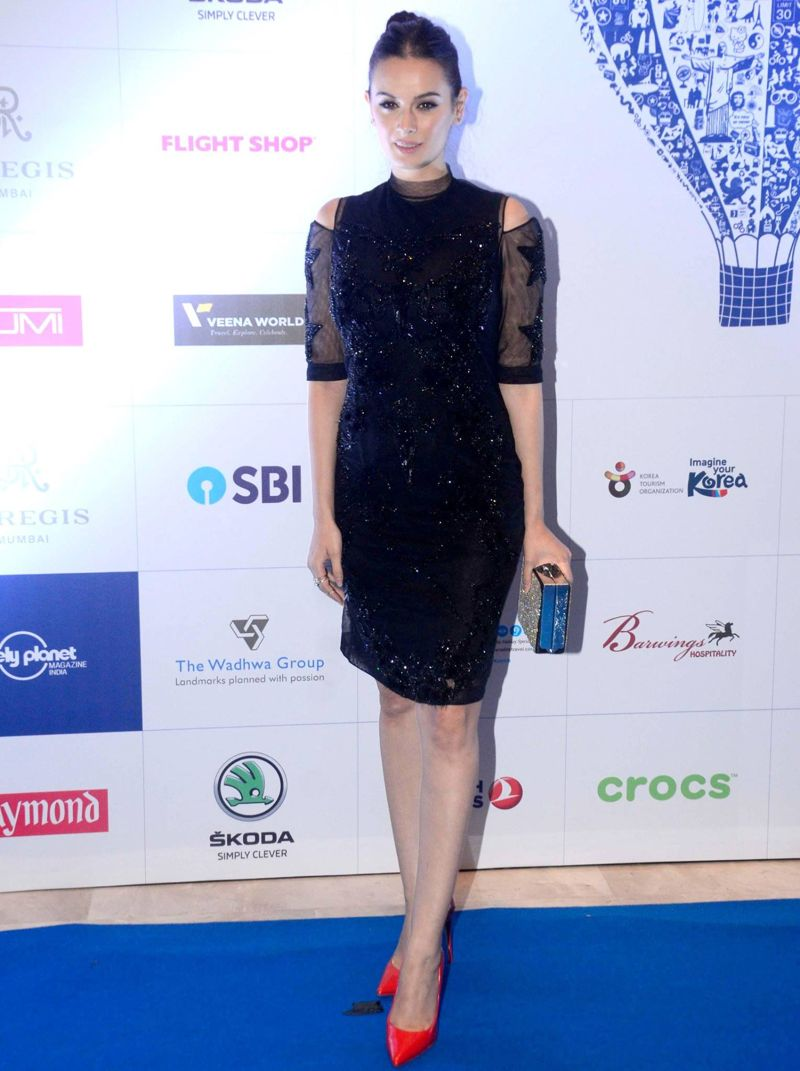Evelyn Sharma at Lonely Planet Magazine India Travel Award