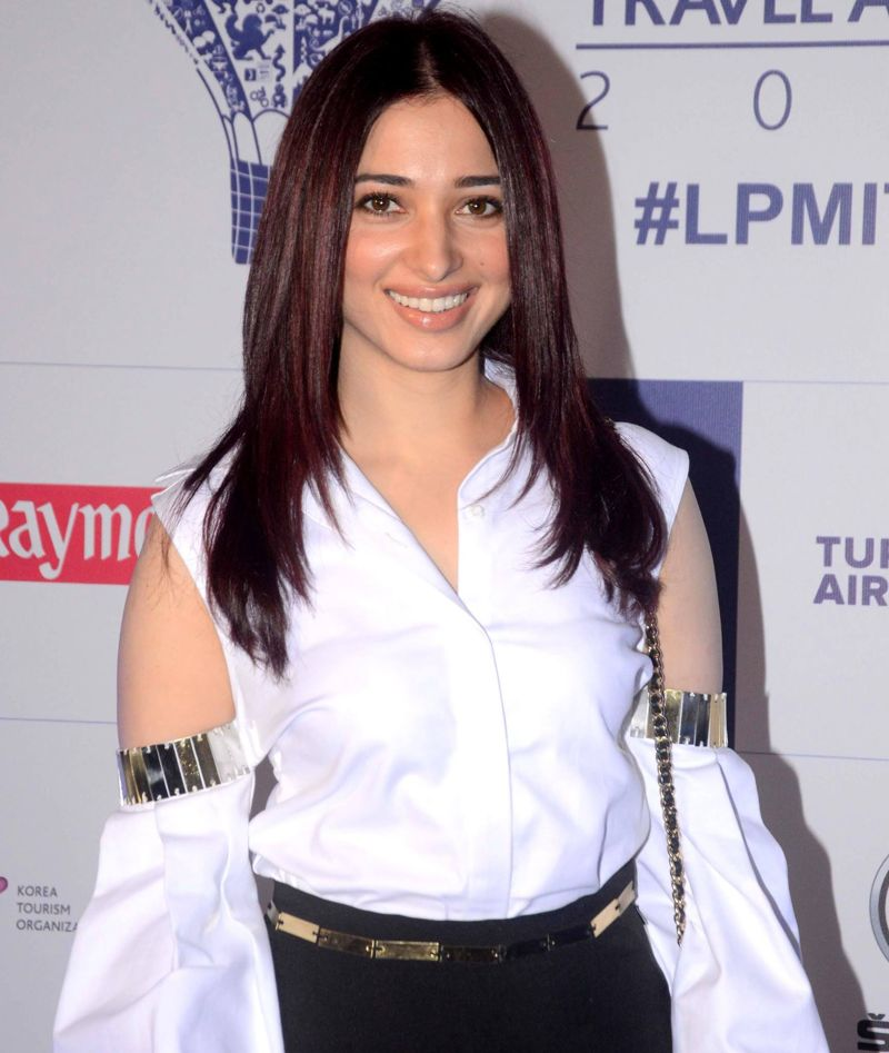 Tamanna at 6th Lonely Planet Magazine India Travel Awards
