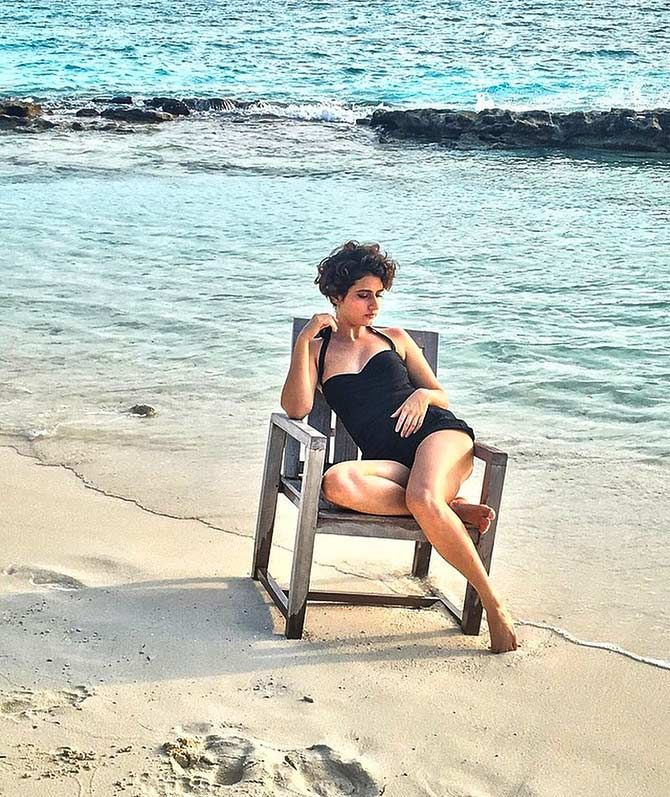 Fatima Sana Sheikh - From Dangal to a swimsuit