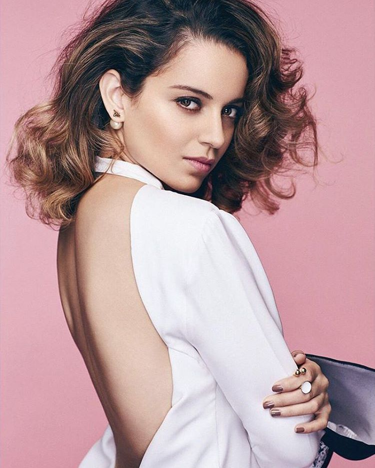 Kangana Ranaut Photoshoot for Elle Magazine (March 2017)