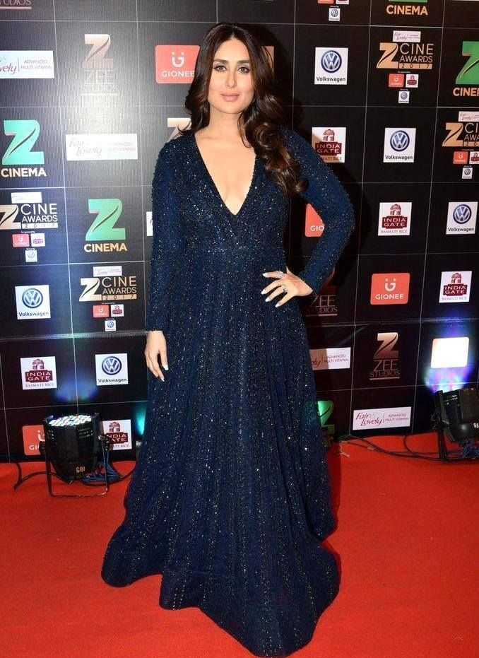 Kareena Kapoor Khan at Fair & Lovely Zee Cine Awards 2017