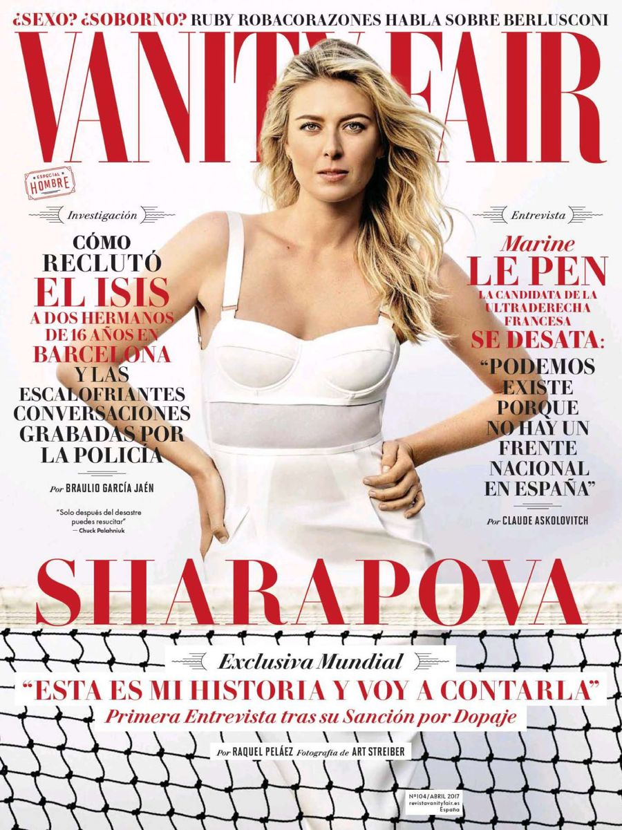 Maria Sharapova - Vanity Fair Spain Magazine (April 2017)