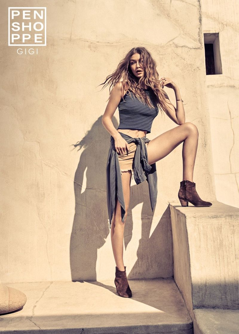 Gigi Hadid Is Ready For Summer In New Fashion Campaign