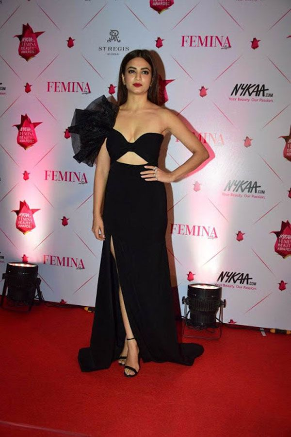 Kriti Kharbanda at Femina Beauty Awards 2017