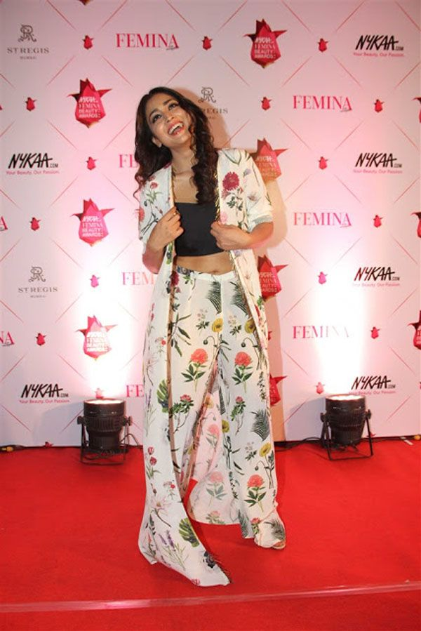 Shriya Saran at Femina Nykaa Beauty Awards 2017