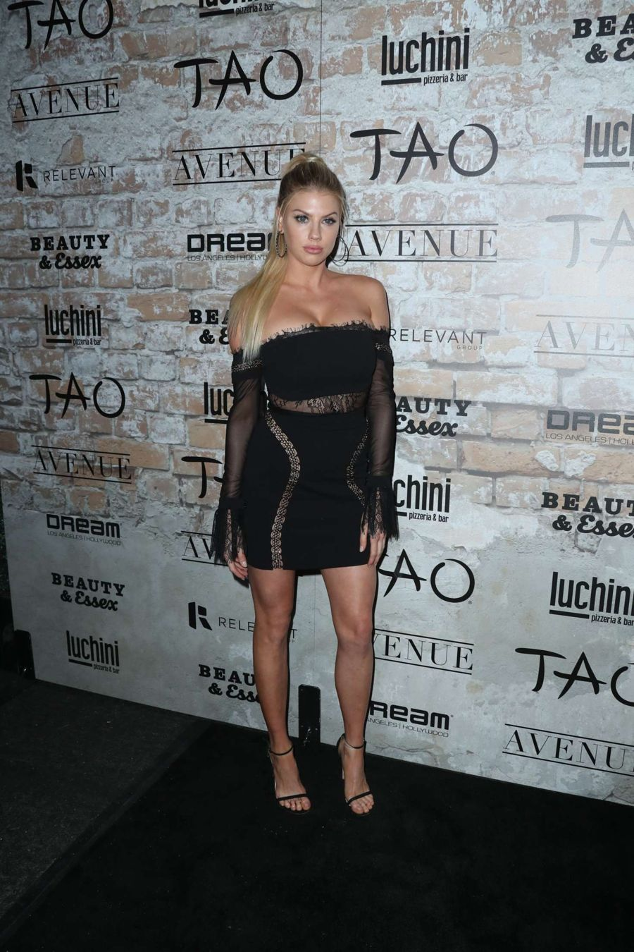 Charlotte McKinney - TAO Group LA Grand Opening Block Party
