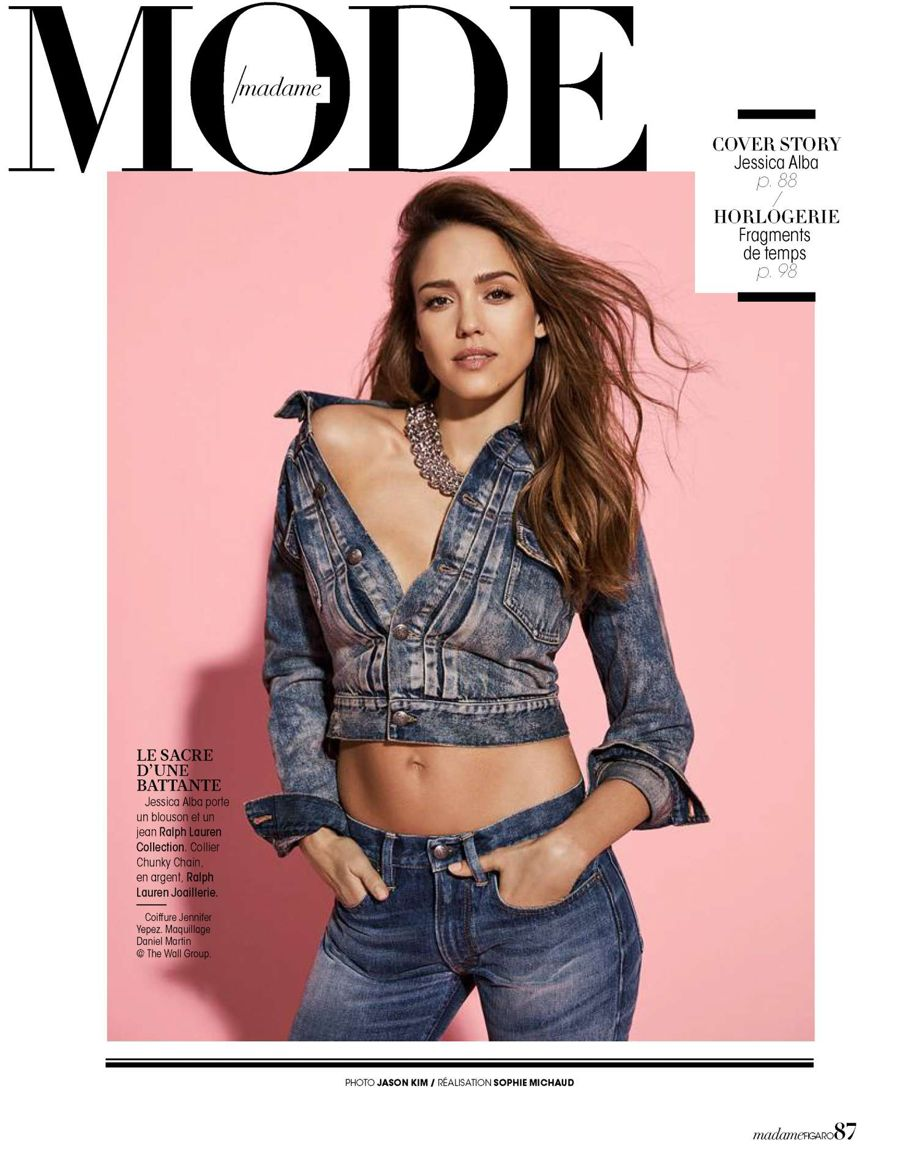 Jessica Alba - Madame Figaro Magazine (March 2017)