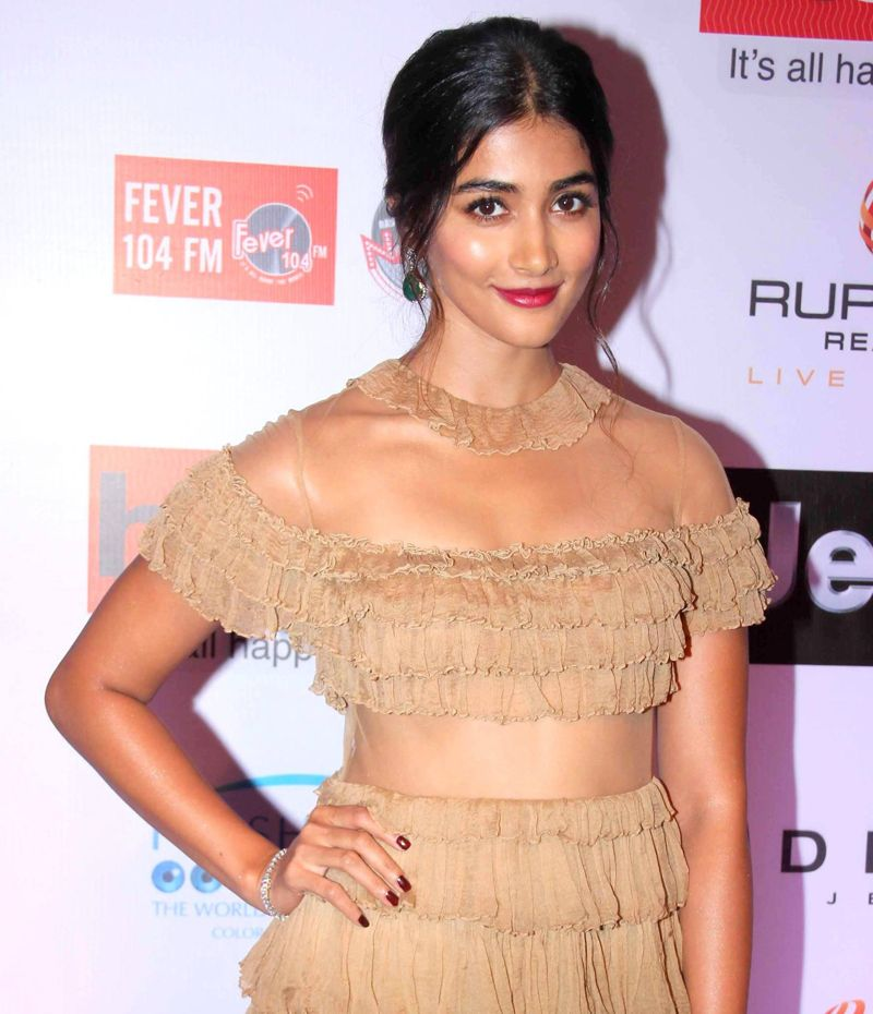Pooja Hegde at HT Most Stylish Awards 2017