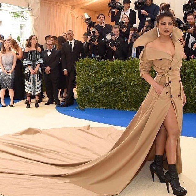 Priyanka Chopra - Met Gala 2017 in NYC