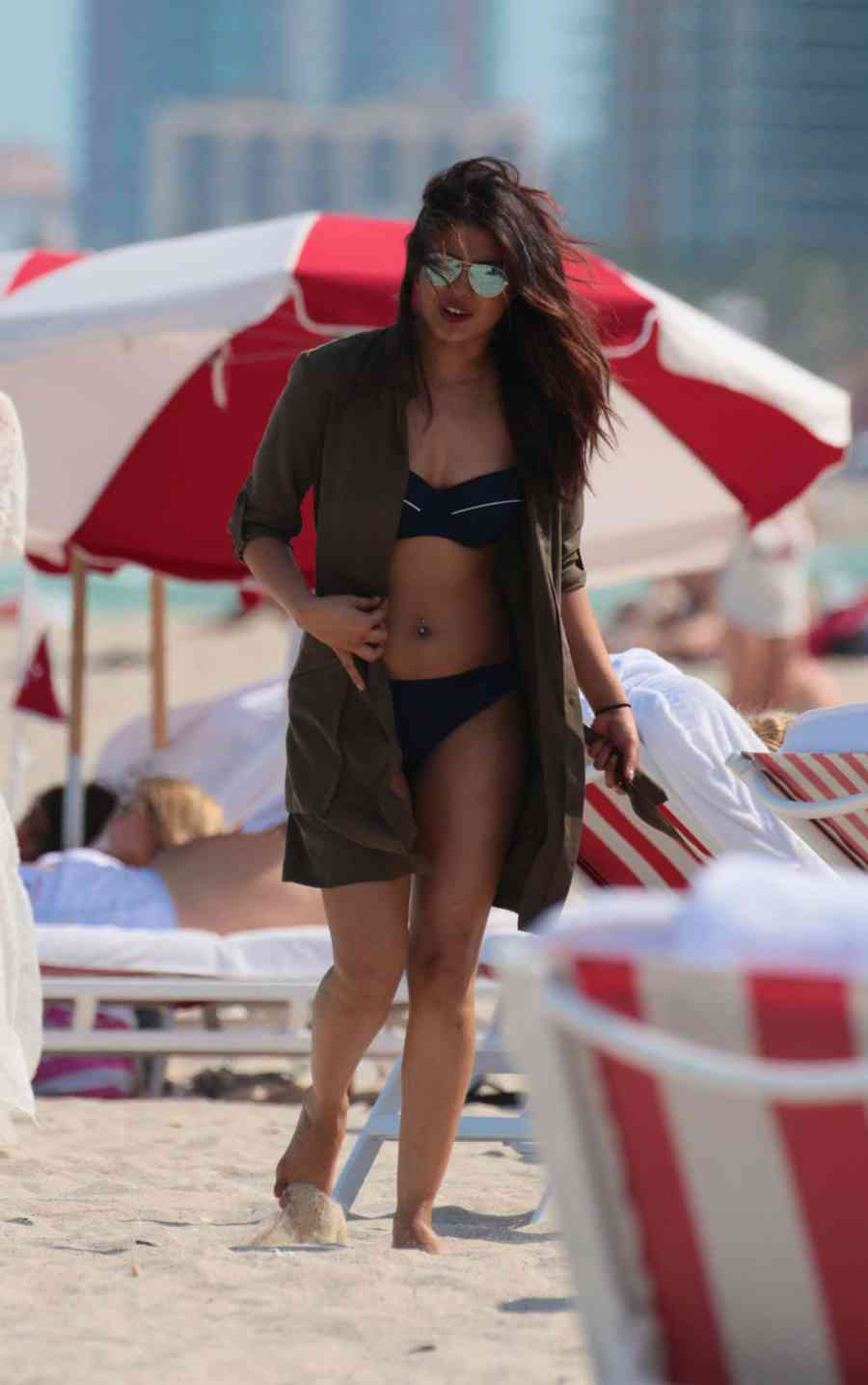 Beach Queen Priyanka Chopra on Miami Beach
