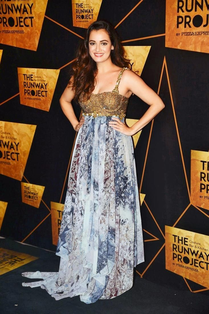 Dia Mirza at The Runway Project Launch