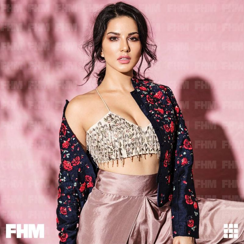 Sunny Leone FHM Cover Shoot October 2017