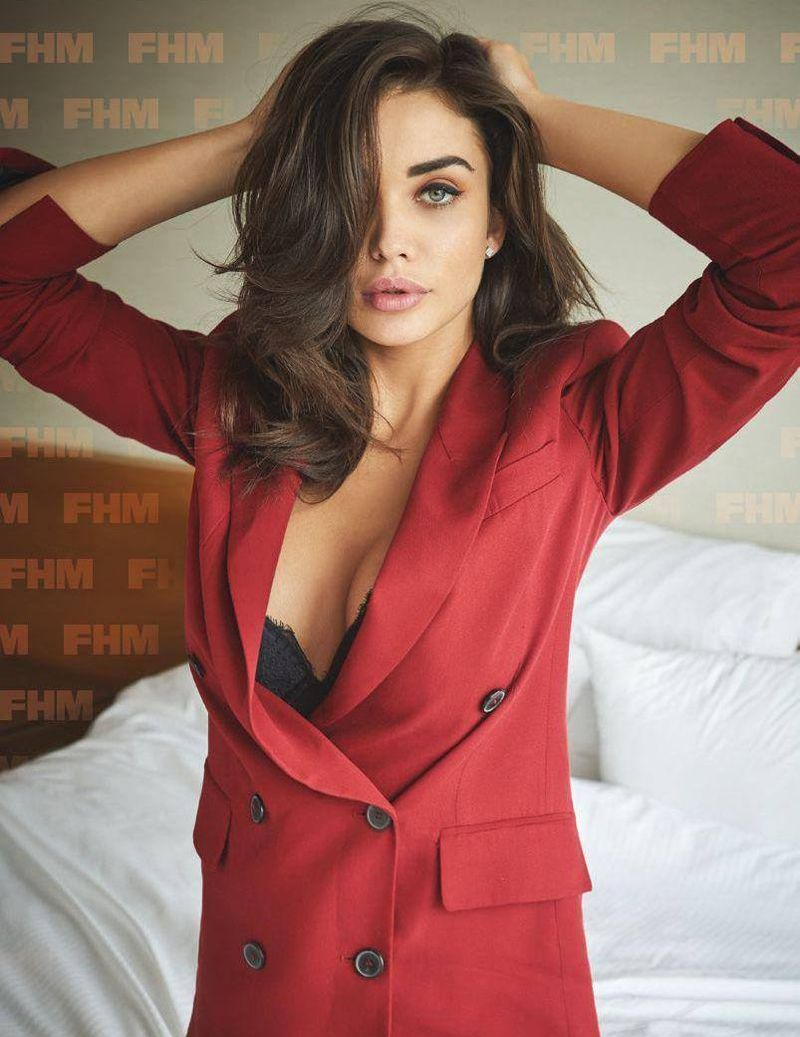 Amy Jackson Steams Up FHM India