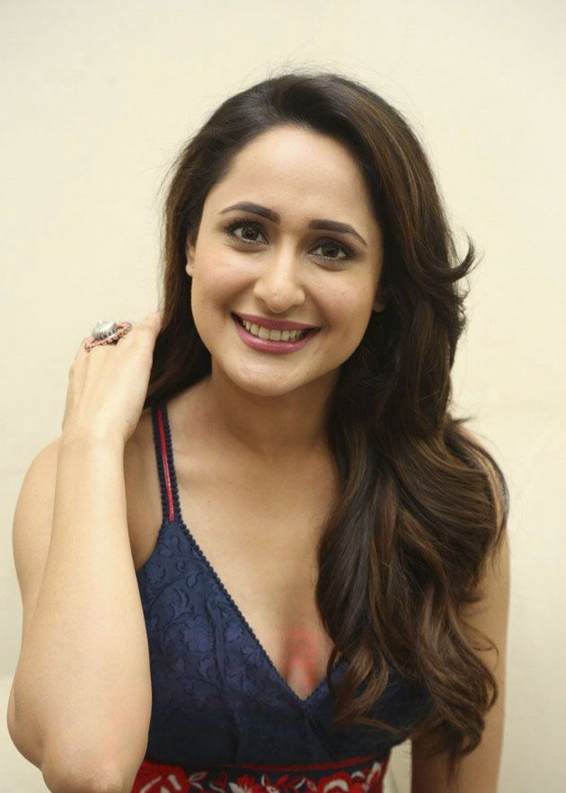 Pragya Jaiswal Stills during Achari America Yatra Interview