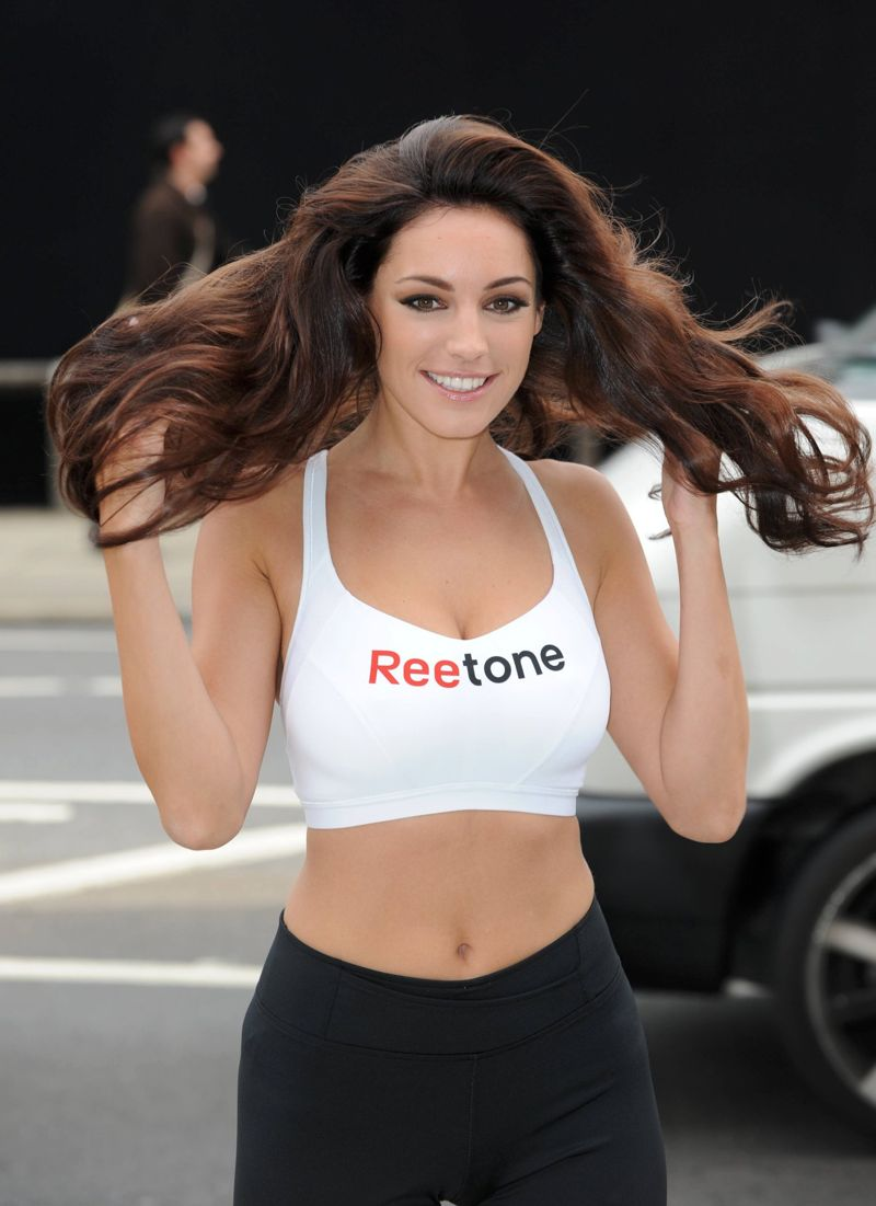 Watch Kelly brook at reebok easytone campaign launch in london video