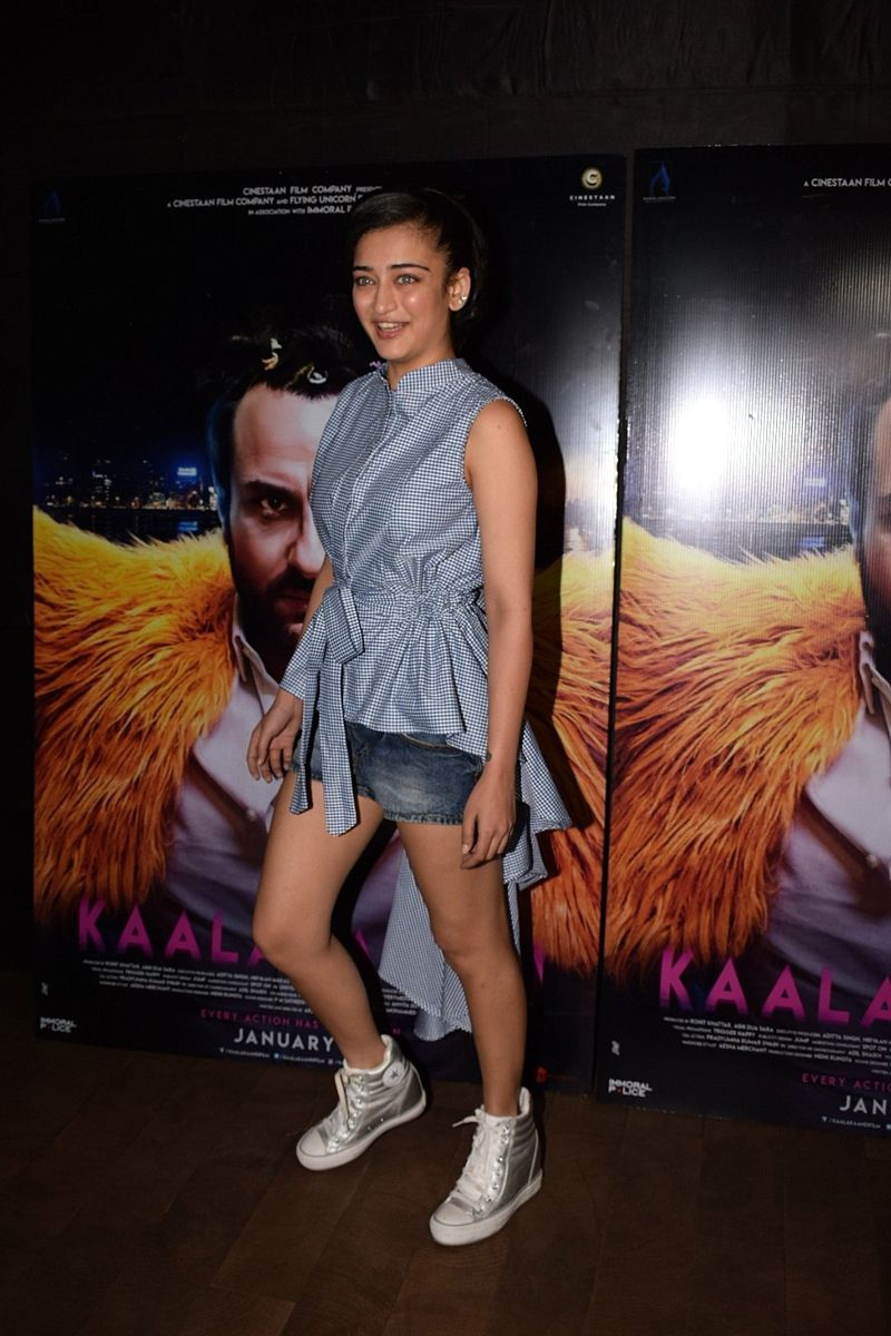 Akshara Haasan Special Screening Of Film Kaalakaandi