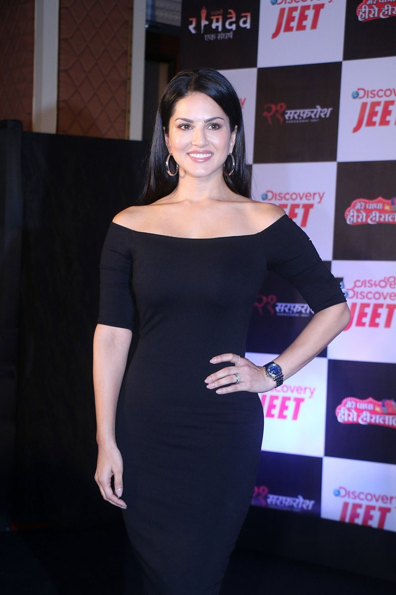 Sunny Leone at Launch Of New Channel Discovery JEET