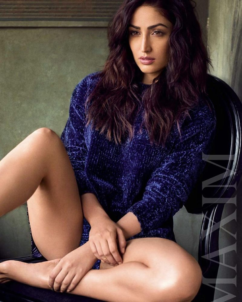 Yami Gautam - Maxim India January 2018 Photoshoot