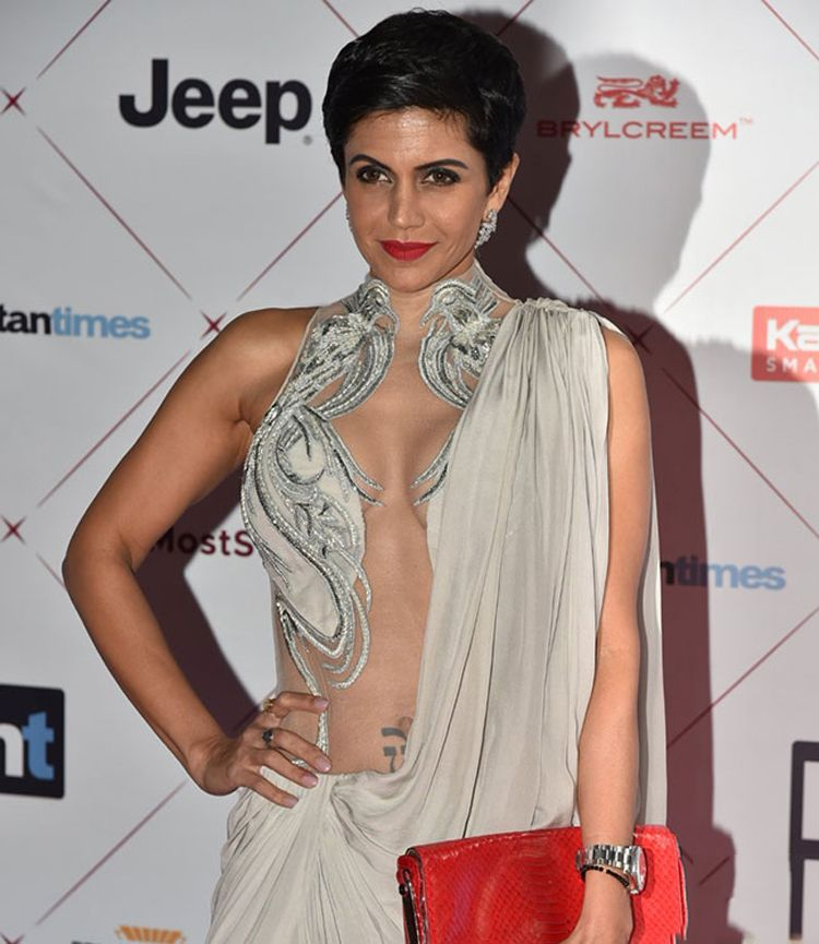 Mandira Bedi at HT Most Stylish Awards 2018