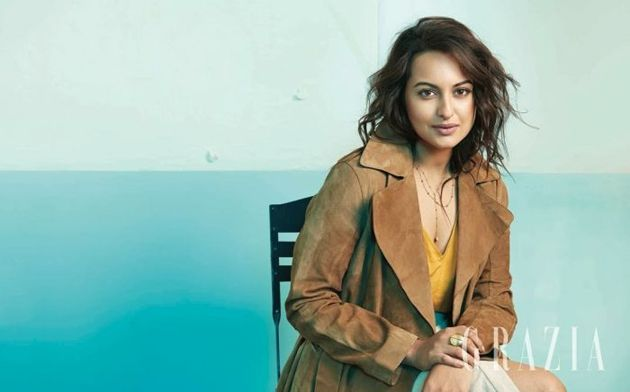 Sonakshi Sinha poses for Grazia