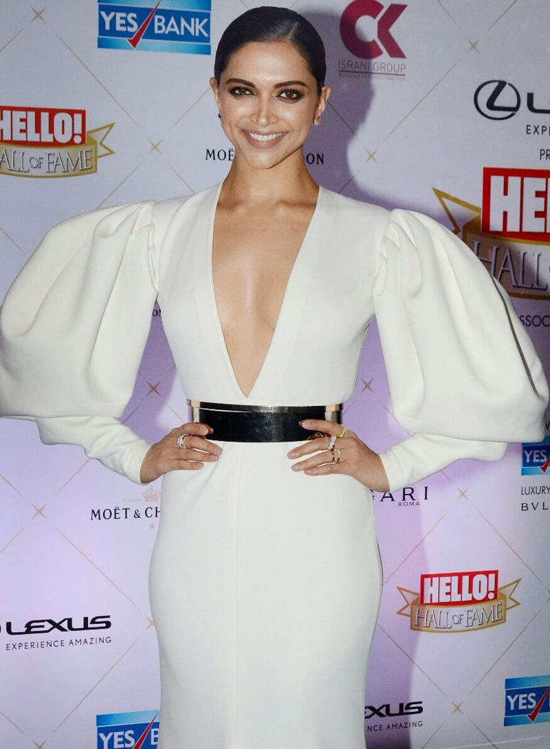 Say 'Hello' to Deepika Padukone