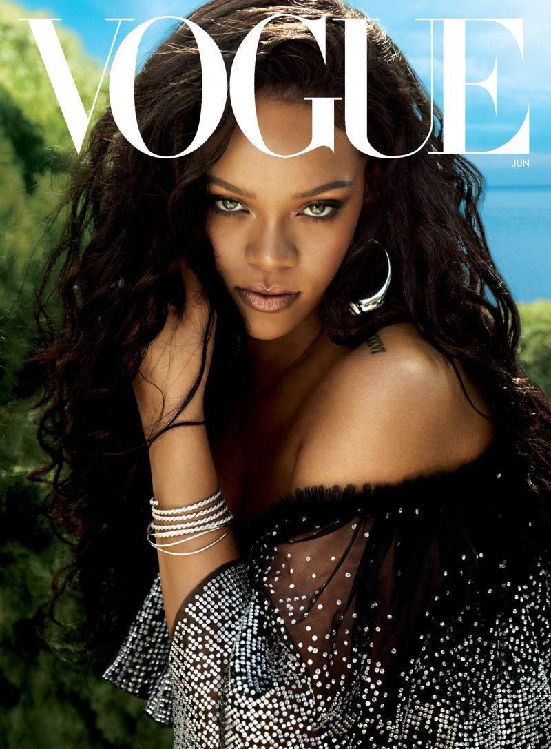 Rihanna - Vogue Magazine Photoshoot (May 2018)