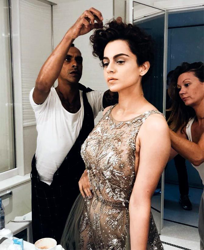 Kangana Ranaut at Sorry Angel's Cannes premiere