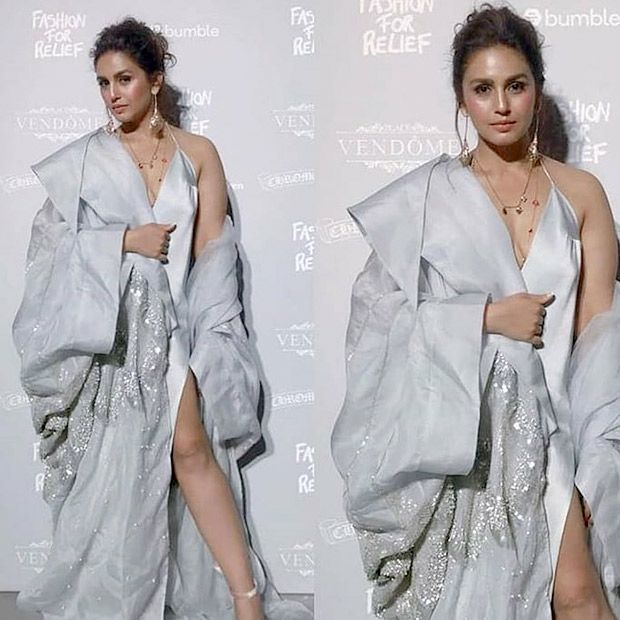 Huma Qureshi Fashion For Relief in Cannes
