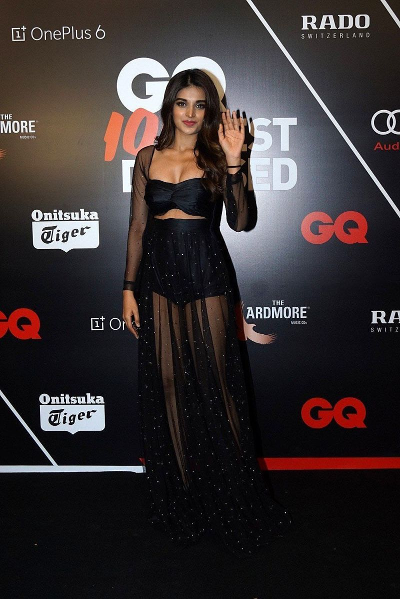 Nidhi Agarwal at Red Carpet Ceremony of GQ Best Dressed 2018